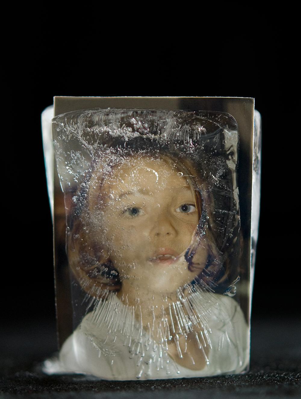 Recuerdos, 02. Baritado sobre madera DM. 53x40 cm. 2010