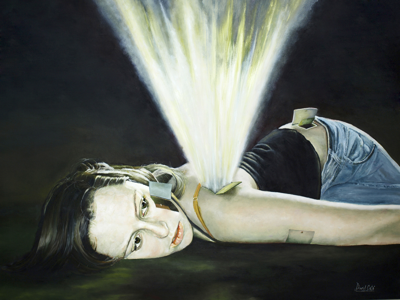 Olvidos Recordados, 2008. Óleo sobre lienzo. 73 x 92 cm.