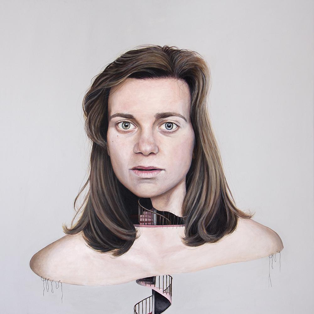 Secuelas, 04. Acrílico sobre lienzo. 100 x 100 cm. 2013