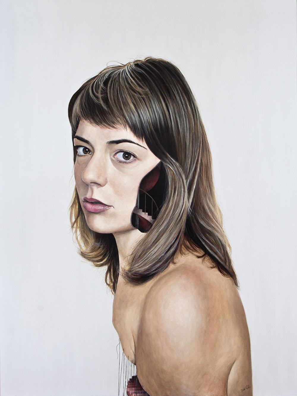 Secuelas, 05. Acrílico sobre lienzo. 130 x 100 cm. 2013