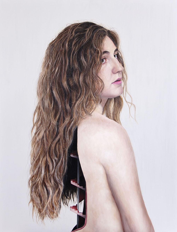 Secuelas, 06. Acrílico sobre lienzo. 130 x 100 cm. 2013